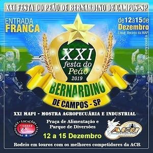 Festa do Peão de Bernardino de Campos