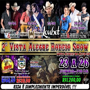 2º Vista Alegre Rodeio Show