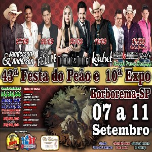 43ª Festa do Peão e 10a Expo Borborema 2016