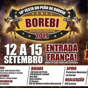 14ª Festa do Peão de Borebi