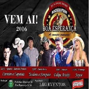 Rodeio Fest Boa Esperança 2016