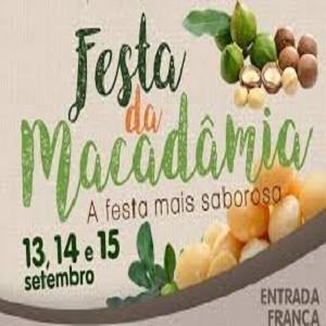 Festa da Macadâmia 2019