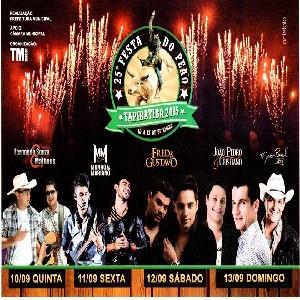 25º Festa do peão Tapiratiba SP