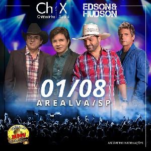 Show Chitãozinho e Xororó e Edson e Hudson