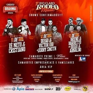 1º Rio Claro Rodeo Music