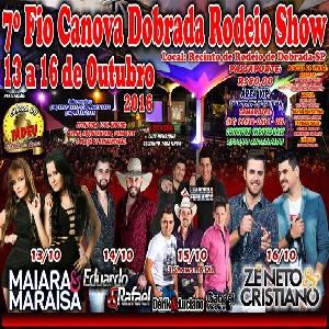 7º Fio Canova Dobrada Rodeio Show 2016