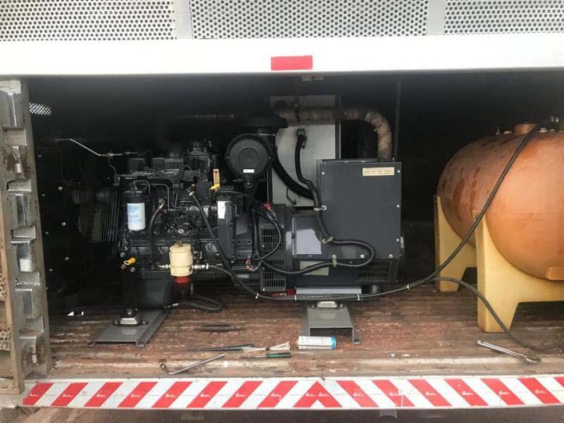 Conserto de gerador a diesel
