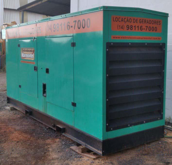 Locação de geradores de energia a diesel