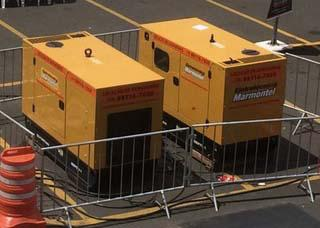 Vendas de geradores a diesel